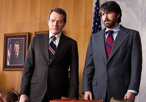Bryan Cranston and Ben Affleck in 'Argo'