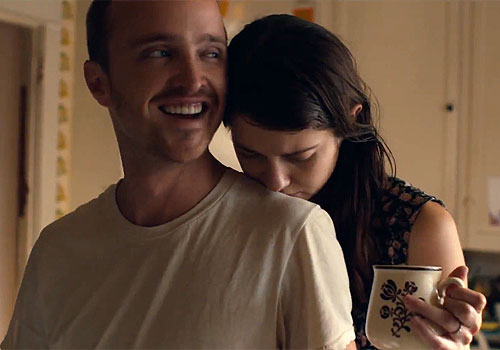 Aaron Paul and Mary Elizabeth Winstead in 'Smashed'