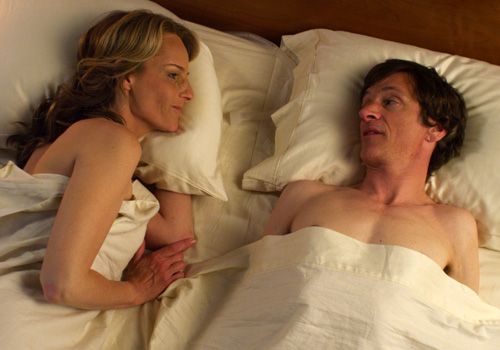 Helen Hunt and John Hawkes in 'The Sessions'