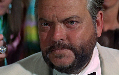 Orson Welles played Le Chiffre in the 1967 James Bond parody, 'Casino Royale'
