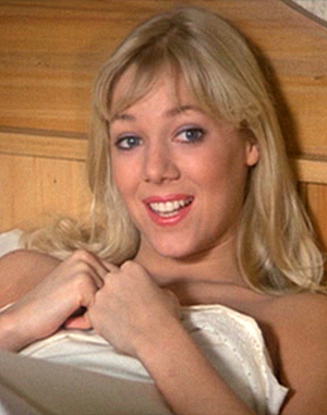 Professional skater Lynn Holly Johnson played a young Bond gal in 'For Your Eyes Only'