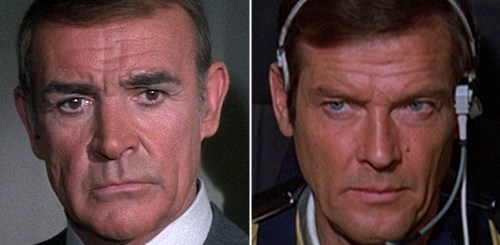 Bond v Bond: Roger Moore went up against Sean Connery in 1983... and won at the box office