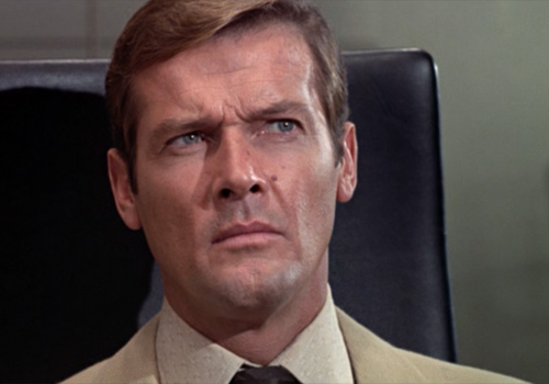 Roger Moore debuts as James Bond in 'Live and Let Die'