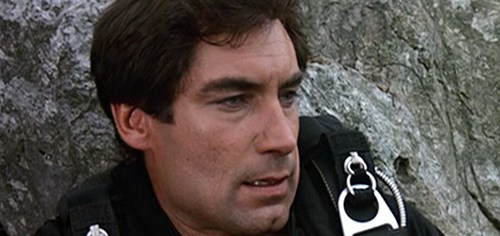 Timothy Dalton begins his short-lived run as James Bond in 'The Living Daylights'