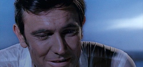 George Lazenby makes his one and only appearance as James Bond in 'On Her Majesty's Secret Service'