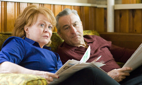 Jacki Weaver Robert De Niro in 'Silver Linings Playbook'