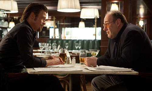 James Gandolfini was the boss in 'Sopranos', but it just a minor hitman in 'Killing Them Softly'