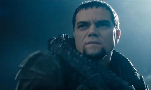 Michael Shannon as General Zod in 'Man of Steel'