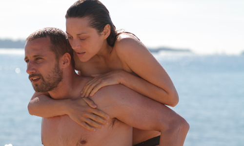 Matthias Schoenaerts and Marion Cotillard star in 'Rust and Bone'