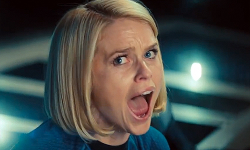 Who will the stunningly beautiful Alice Eve's character be in 'Star Trek Into Darkness'?