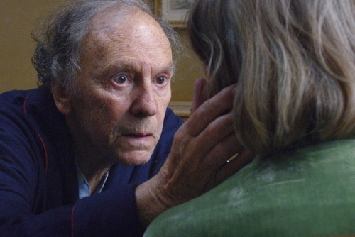 """Georges"" and ""Anne"" in a scene from 'Amour'"