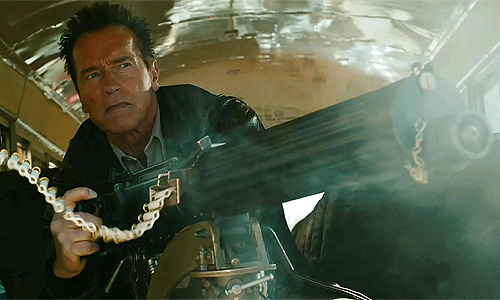 Arnold Scharzenegger is Sheriff Ray Owens in 'The Last Stand'