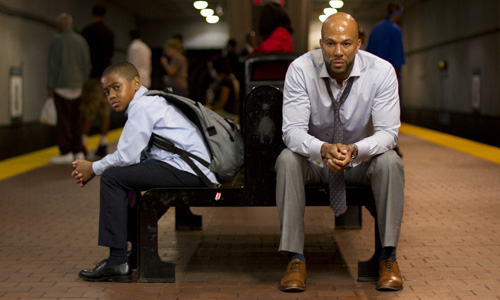 Michael Rainey Jr. and Common in 'LUV'