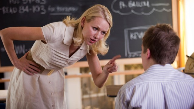 Naomi Watts as the mother home-schooling her son in 'Movie 43'
