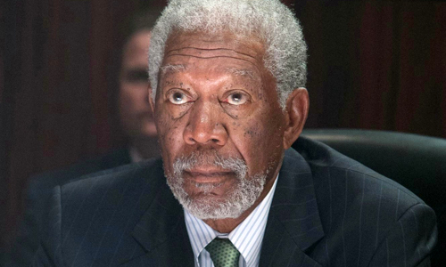 Morgan Freeman in 'Olympus Has Fallen'