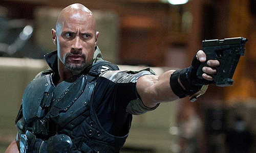 Dwayne Johnson is 'Roadblock' in 'G.I. Joe Retaliation'