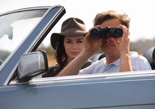 """Mike"" and ""Arthur"" spy on a couple they are following"