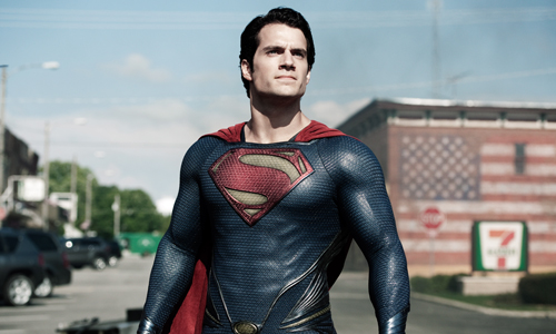 Superman (Henry Cavill) stands tall in 'Man of Steel'