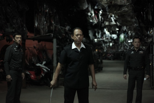 """Lt Chang"" aka ""The Angel of Death"" (Vithaya Pansingarm) in 'Only God Forgives'"