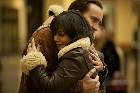 Nicolas Cage and Vanessa Hudgens in 'The Frozen Ground'