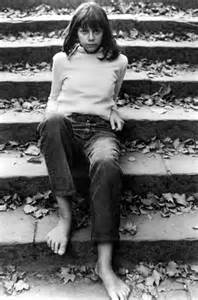 Author Joyce Maynard in 1973, after her relationship with J.D. Salinger had ended