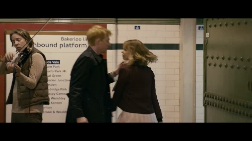 """Dohmnall Gleeson's """"Tim"""" finds himself having to meet Rachel McAdams' """"Mary"""" in 'About Time'"""