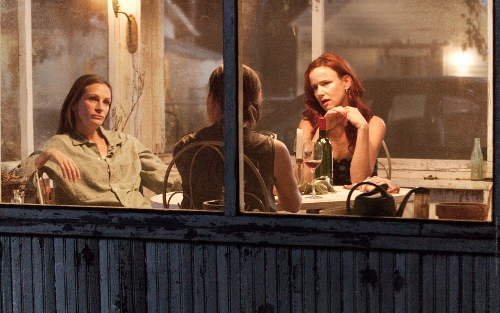 Julia Roberts, Julianne Nicholson and Juliette Lewis are the Weston sisters reunited in 'August: Osage County'