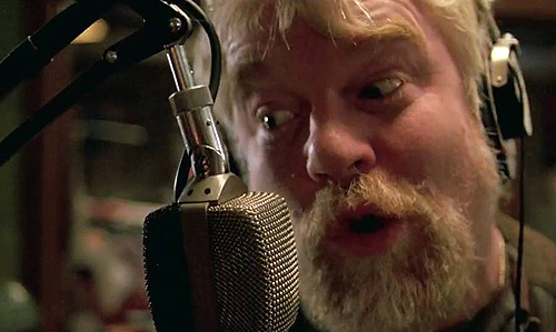 Philip Seymour Hoffman in 'Pirate Radio'
