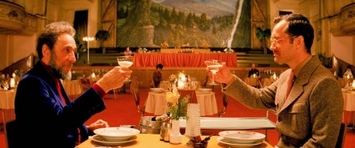 F. Murray Abraham and Jude Law in 'The Grand Budapest Hotel'
