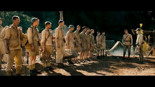 The British officer POWs at the camp in 'The Railway Man'