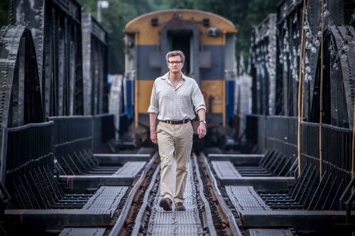 Colin Firth is the title character in 'The Railway Man'