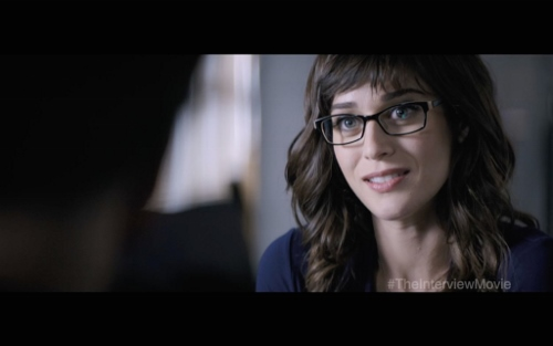 "Lizzy Caplan in ""The Interview"""