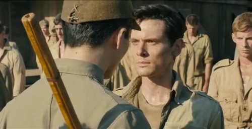 "Miyavi and Jack O'Connell in ""Unbroken"""