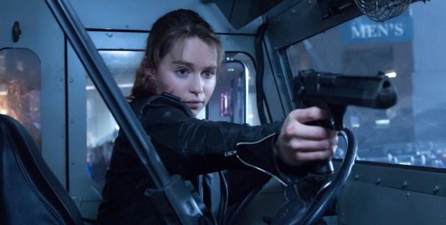 Emilia Clarke in 'Terminator Genisys'