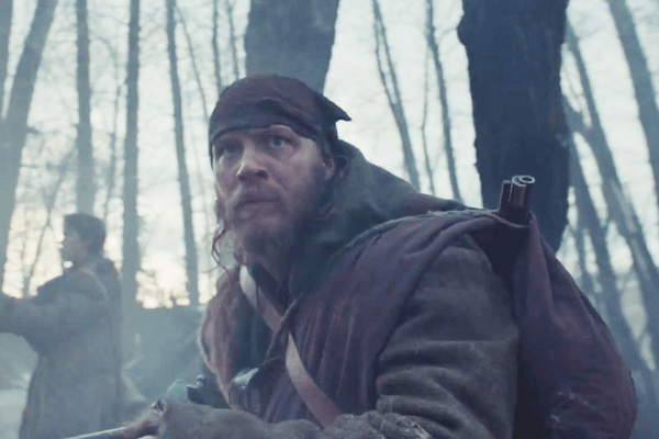 Tom Hardy in 'The Revenant'
