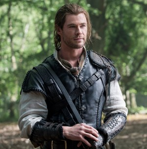 "CHRIS HEMSWORTH as Eric the Huntsman in the story that came before Snow White: ""The Huntsman: Winter's War."" Hemsworth and Oscar® winner Charlize Theron return to their roles from ""Snow White and the Huntsman,"" joined by Emily Blunt and Jessica Chastain."