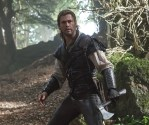 """CHRIS HEMSWORTH as Eric the Huntsman in the story that came before Snow White: """"The Huntsman: Winter's War."""" Hemsworth and Oscar® winner Charlize Theron return to their roles from """"Snow White and the Huntsman,"""" joined by Emily Blunt and Jessica Chastain."""