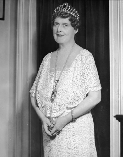 A photo of the real Florence Foster Jenkins