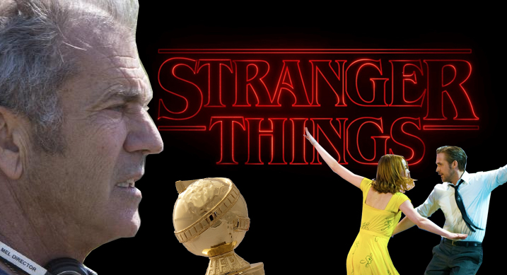 Mel Gibson, 'Stranger Things' and 'La La Land' score Golden Globes nominations.