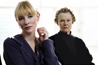 Cate Blanchett (left) and Judi Dench co-star in 'Notes on a Scandal'