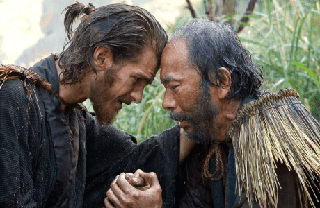 Andrew Garfield in 'Silence'