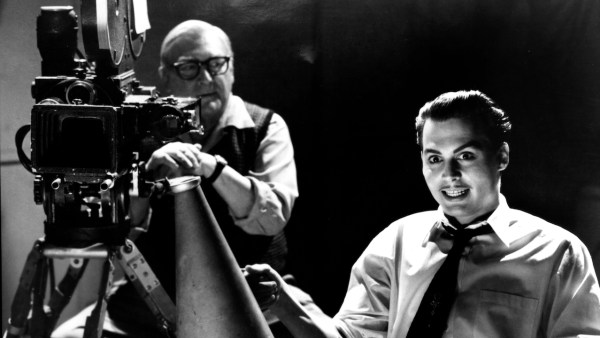 'Ed Wood' with Johnny Depp and Norman Alden