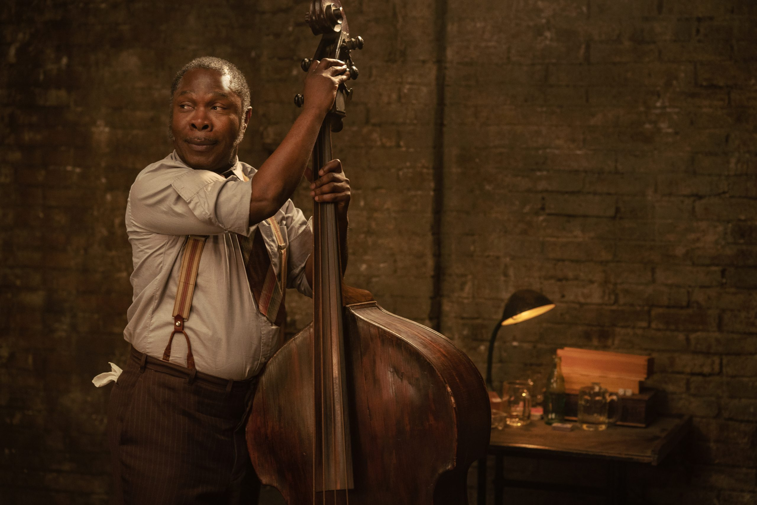 Michael Potts in 'Ma Rainey's Black Bottom' on Netflix. (David Lee / Netflix)