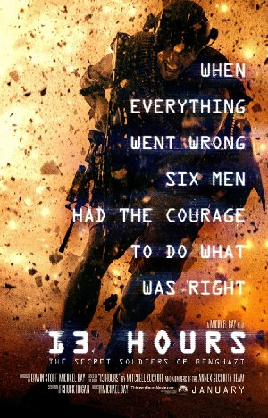 13 Hours: The Secret Soldiers of Benghazi poster