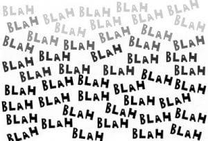 Image result for blah blah blah