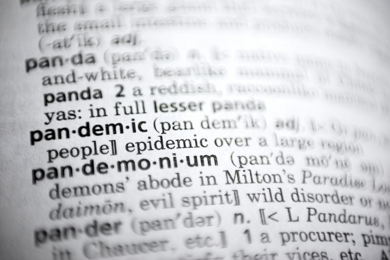 Merriam-Webster picks 'pandemic' as word of the year 反映全球疫情 「pandemic」獲選年度 熱門單字 - Taipei Times