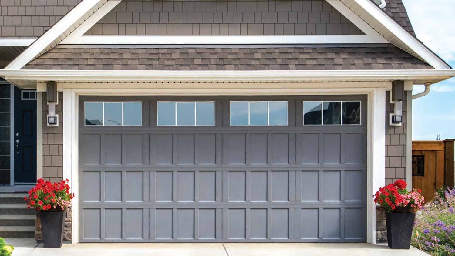 hight resolution of the model 9700 garage door adds the final touch to the design of your home it comes in a wide variety of styles finishes and options to make your home