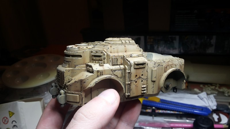 Goliath Rockgrinder - Weathering