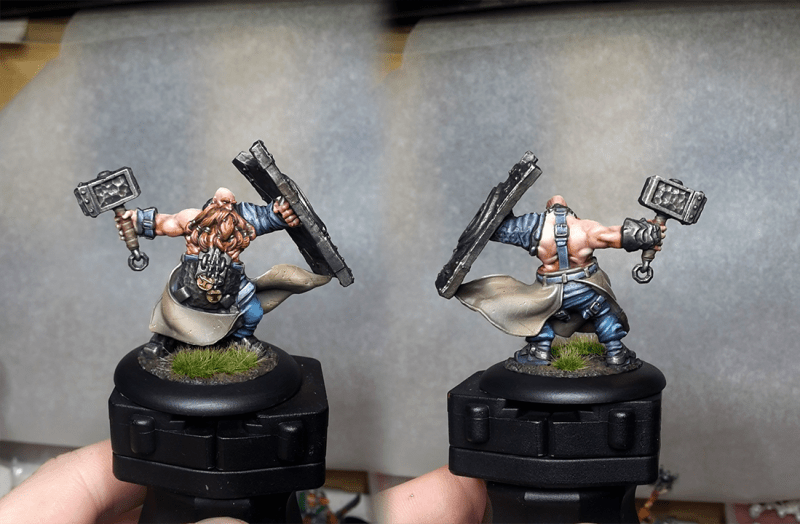 Guild Ball - Blacksmith team - Anvil