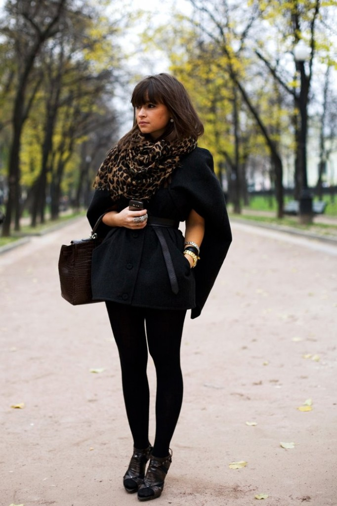 Miroslava Duma scarf accessories